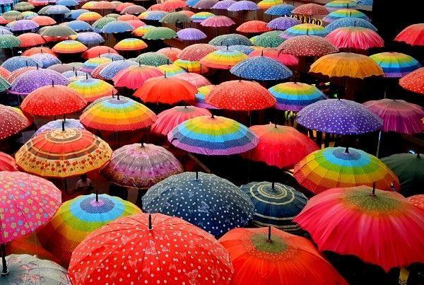 multi-colored-umbrellas