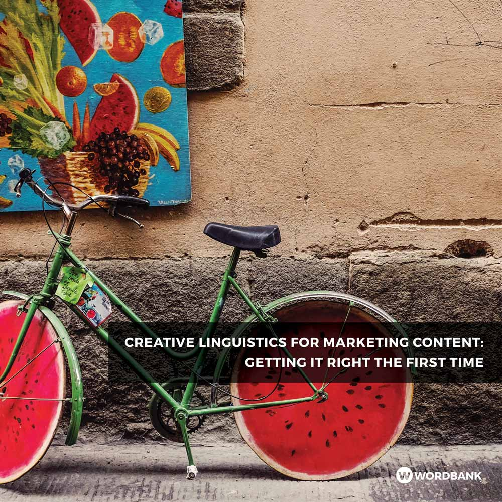 eBook Cover - Creative Linguistics for Marketing Content: Getting It Right the First Time